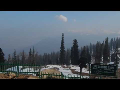 Awesome winter  Climate at Gulmarg, Srinagar , Kashmir