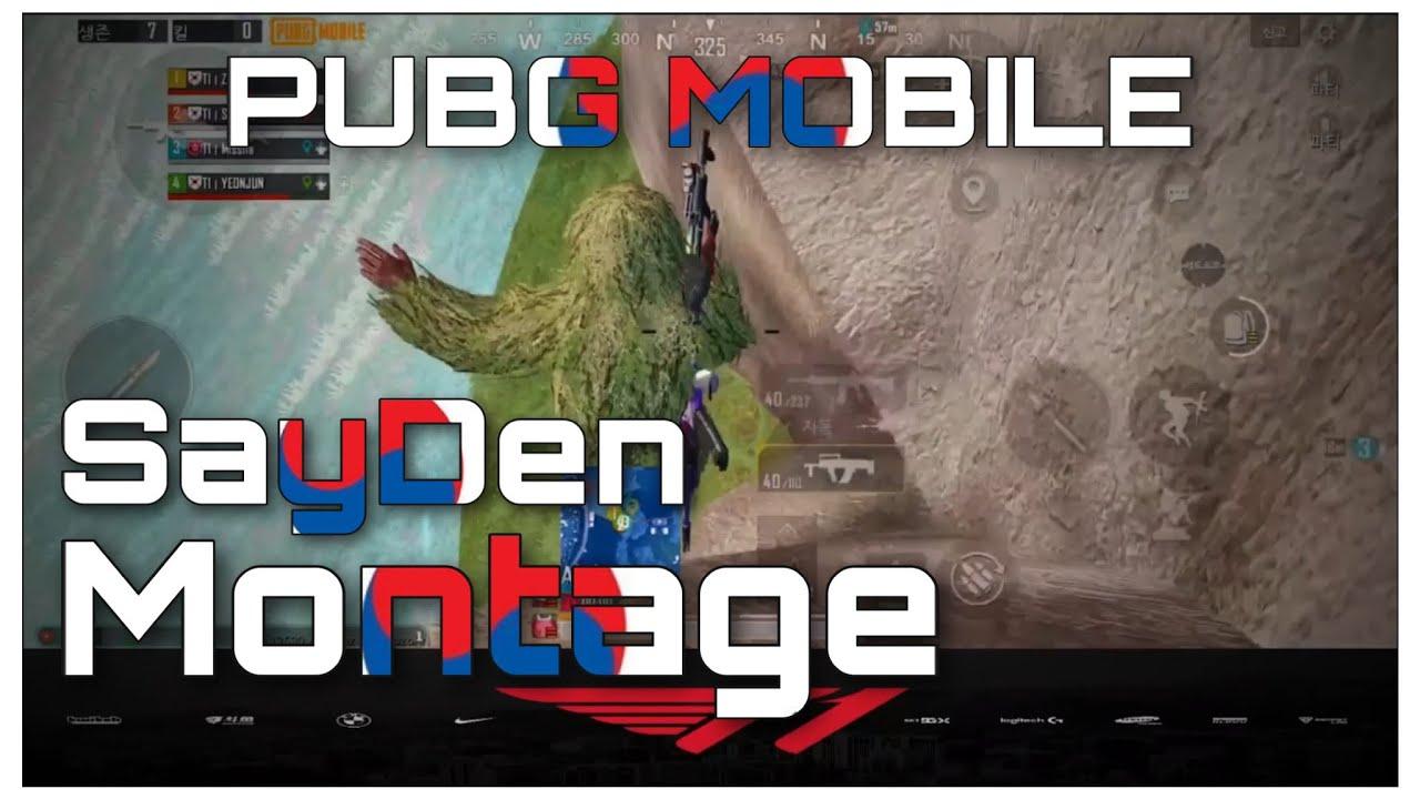 PMWL SCRIM | PUBG MOBILE | 모배 매드무비 | SayDen