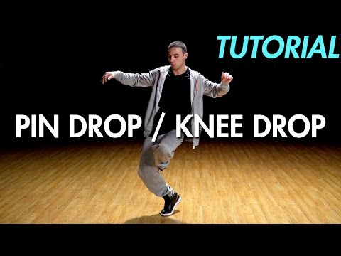 How to Pin Drop / Knee Drop (Hip Hop Dance Moves Tutorial: Breakdance) | Mihran Kirakosian