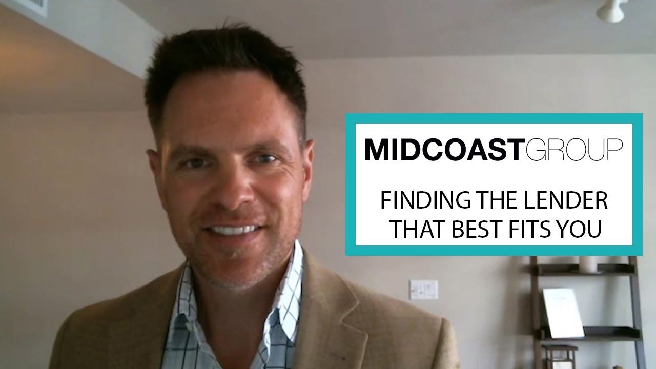 Finding the Lender That best Fits You | Erik Brown