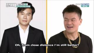 160427 Weekly Idol Eng Subs - JYP can