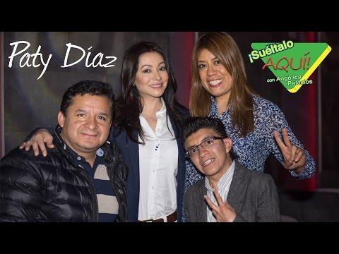 Paty Díaz se ENOJA y CORRE a reportero  Suéltalo Aquí con Angélica Palacios