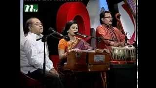 Bangla Musical Show - Je Gaan Gourobe Bohoman l Subir Nandi, Parveen Sultana