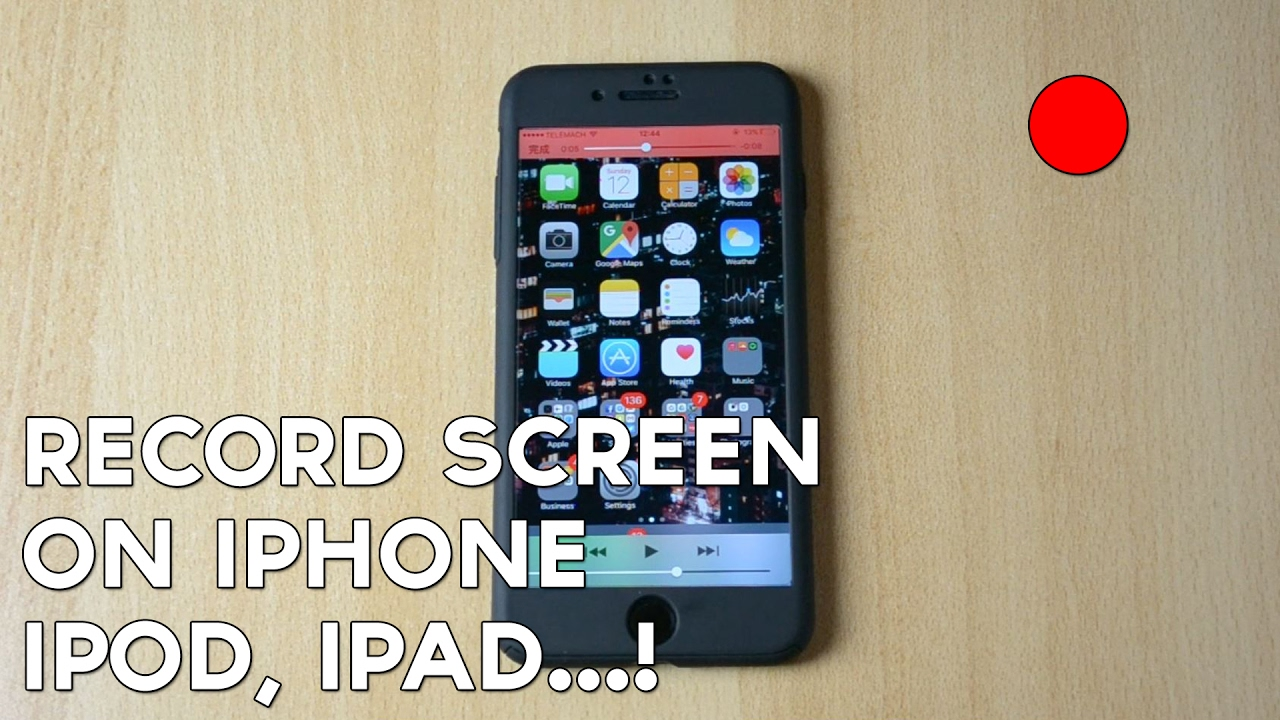 record screen iphone how to record screen on apple iphone ipod touch 12839