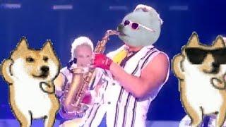 색소폰 가이 강아지 리믹스 (epic sax guy gabe the dog remix)