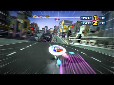 Sonic & Sega All-Stars Racing - Ulala Shibuya Downtown (Requested)