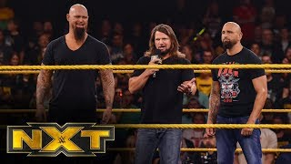 The O.C. faces off with Tommaso Ciampa, Matt Riddle & Keith Lee: WWE NXT, Nov. 6, 2019