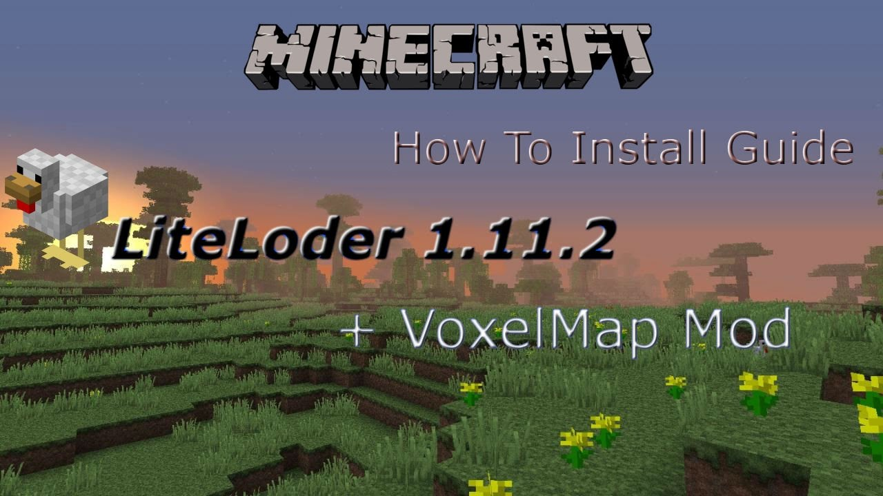 How To Download And Install Voxelmap For Minecraft YouTube - Mini map para minecraft 1 11 2