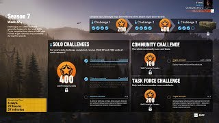 Ghost Recon Wildlands Season 7 Week 4 Solo Challenge 2