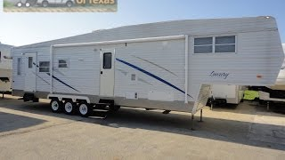 Check Out This 40ft Full Time 5th Wheel! 2008 Luxury By Design