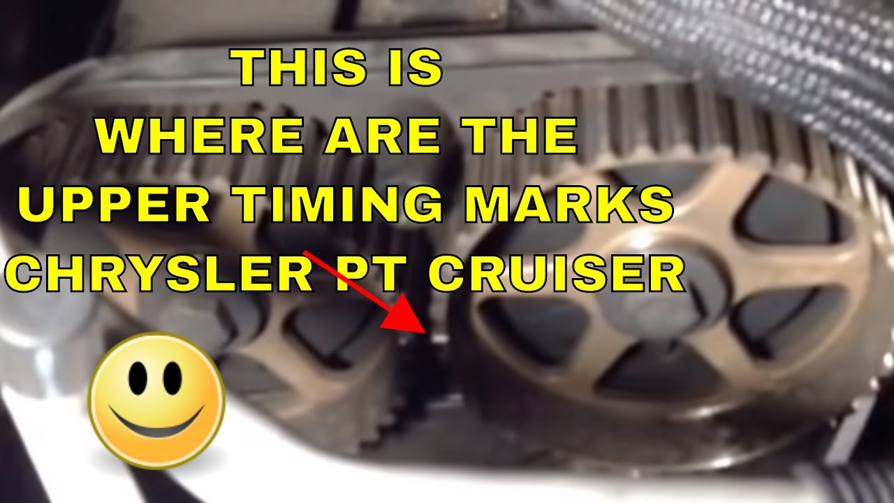 Pt Cruiser Timing Belt Replacement   2001 To 2007 2 4l