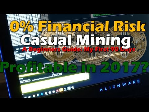 Beginner's Guide: Casual Cryptocurrency Mining with 0% Financial Risk -  Is it worth it in 2017?
