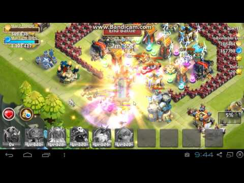 Castle Clash Raiding At High Might