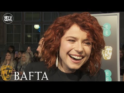 Jessie Buckley on the sensational Wild Rose at the 2019 BAFTAs