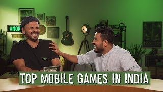 Top Mobile Games in India | Sorabh Reviews Anything W. Abish Mathew | #NoRules