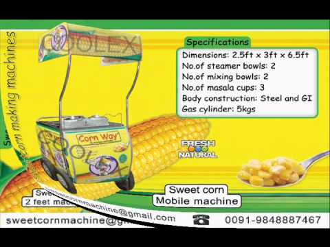 Sweet corn business wmv