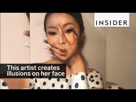Dain Yoon. Face. Painted.