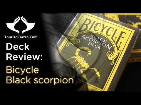 bicycle black scorpion deck - photo #20