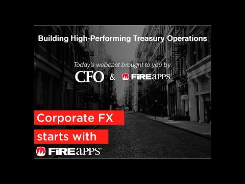 Building High-Performing Treasury Operations