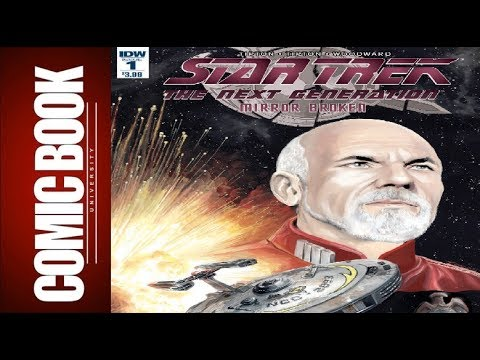 Star Trek Tng Mirror Broken #1 (of 6) | COMIC BOOK UNIVERSITY