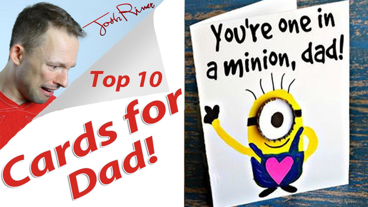 Funny Fathers Day Cards Youtube