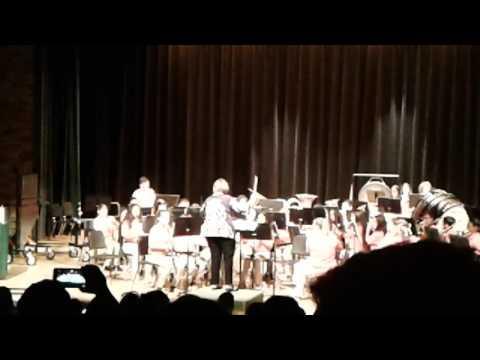 Bayou blue middle school concert band