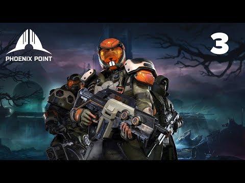 Phoenix Point с Майкером 3 часть