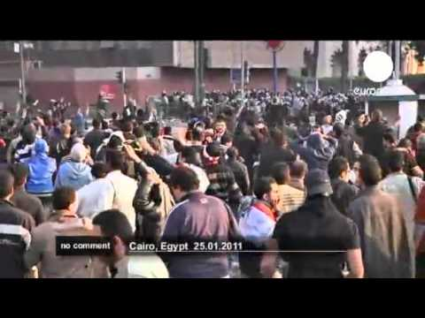 Egyptians protest against government in Cairo euronews, no comment