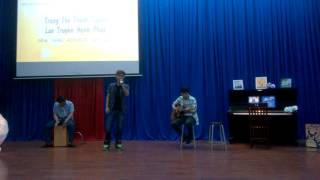 [Khánh Trung] - Rock vầng trăng (Guitar Quân Acoustic, Cajon Garu)