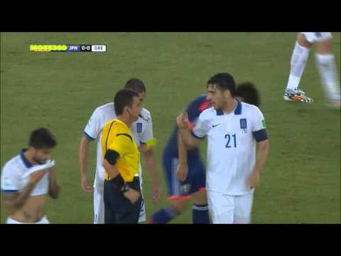 Japan vs Greece 0-0 (19/06/14) HIGHLIGHTS