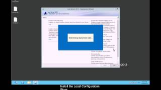 Lync 2013 RTM : Frontend and Edge Installation - Setup - Us-En With Subtitles