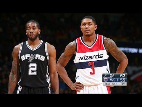 San Antonio Spurs vs Washington Wizards - L Game Highlights   Nov 26, 2016   2016-17 NBA S