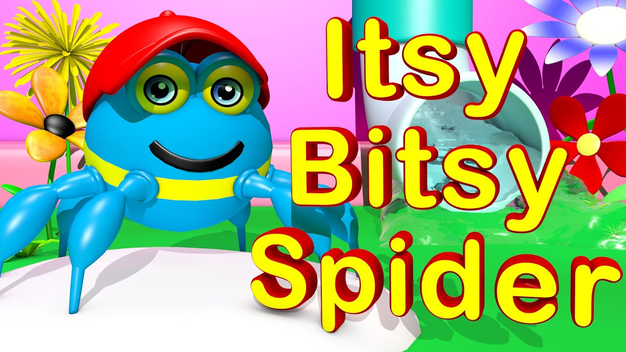 Itsy Bitsy Spider Nursery Rhymes For Children