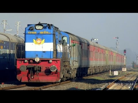 "51 in 1 ! High Speed ALCo Action "" INDIAN RAILWAYS "" Compilation."