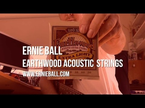 Ernie Ball: Earthwood Acoustic Guitar Strings - Demo with Axe-FX II
