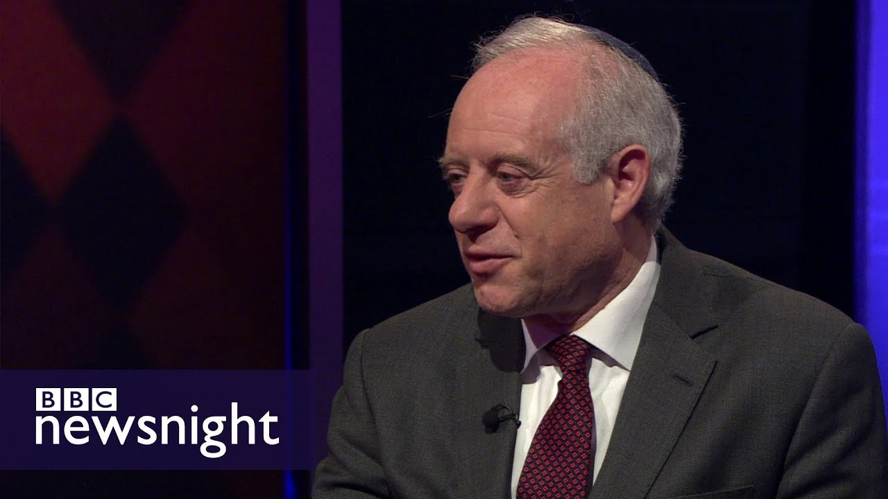 Jewish leader on meeting with Jeremy Corbyn - BBC Newsnight
