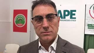Paolo Loizzo si presenta alla stampa come candidato sindaco