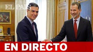 DIRECTO RONDA DE CONSULTAS | El REY recibe a SÁNCHEZ, CASADO y RIVERA