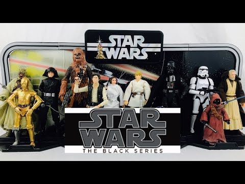 Star Wars The Black Series 40th Anniversary Complete Early Bird Display Review