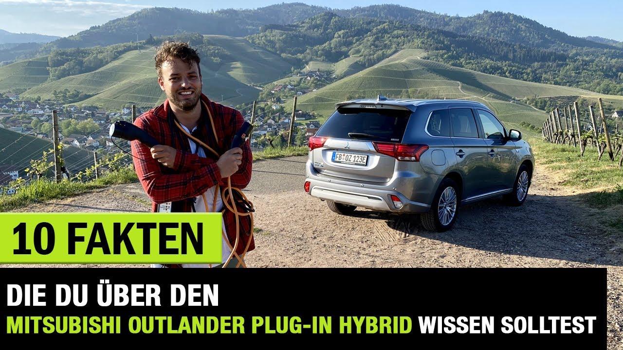 10 Fakten Die Du Uber Das 2020 Mitsubishi Outlander Plug In Hybrid Facelift Wissen Solltest Youtube