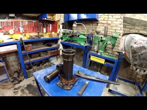 Новое оборудование в гараж, поездка на  металоприемку[PVS]