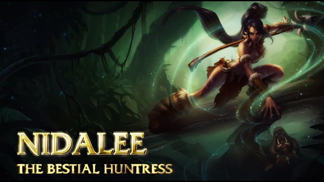 Lol nidalee in the jungle - 4 10