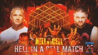 WWE Hell In A Cell 2017 Official and Full Match Card