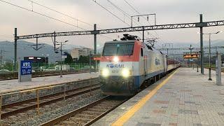 서울행 무궁화호 #1204 열차 삼랑진역 접근/도착영상…