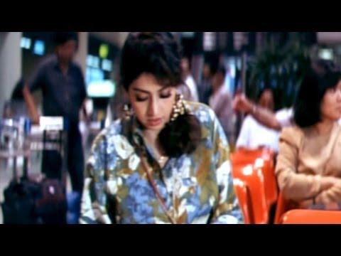 Govinda Govinda Movie || Sridevi Comedy At Airport || Nagarjuna,Sridevi
