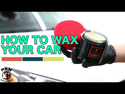 HOW TO WAX YOUR CAR !!