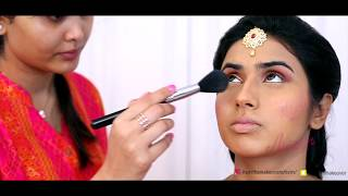 South Indian Bridal Makeup | Asmitha Makeover Artistry