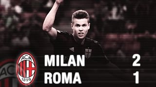 Video Gol Pertandingan AC Milan vs AS Roma