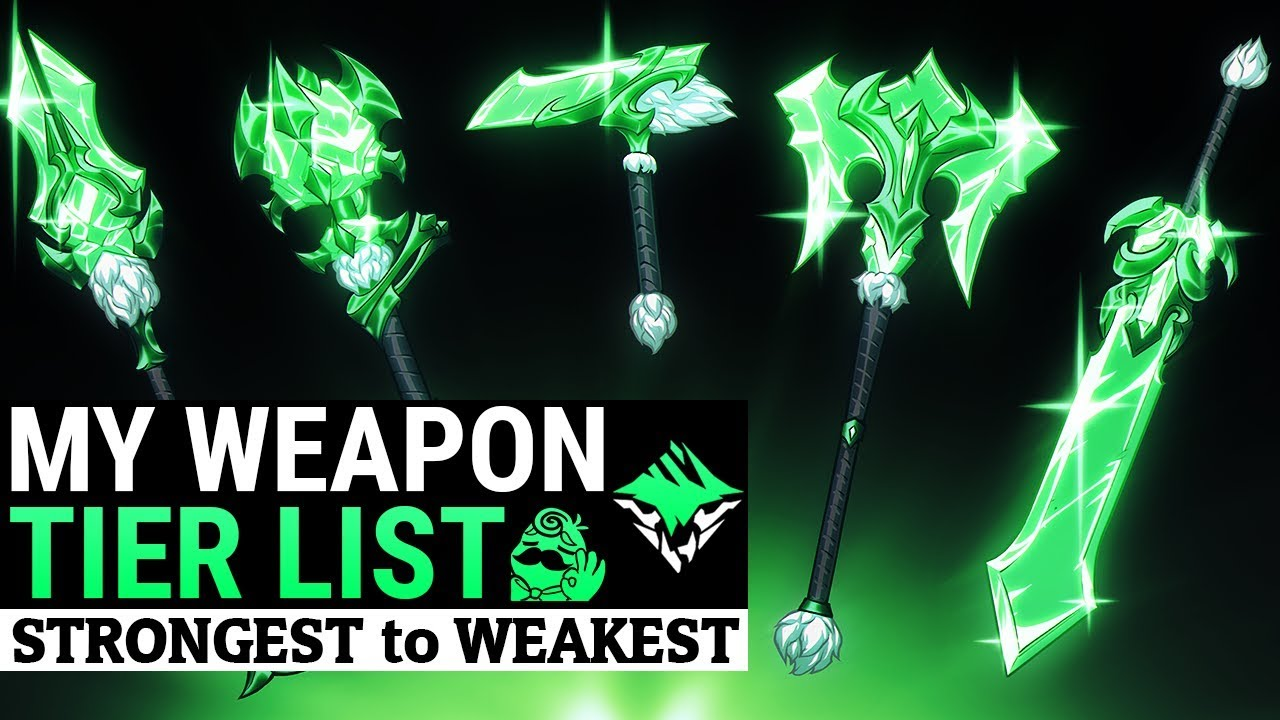 Dauntless Weapon Tier List - Strongest weapon to Weakest - Dauntless Patch  0 8 3