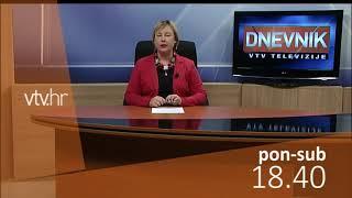 VTV dnevnik najava 11. prosinca 2017.